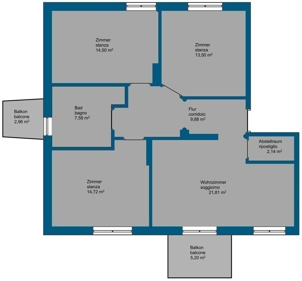 4 zimmer wohnung bozen haslach oberau bozen kaufen immobilien s dtirol. Black Bedroom Furniture Sets. Home Design Ideas