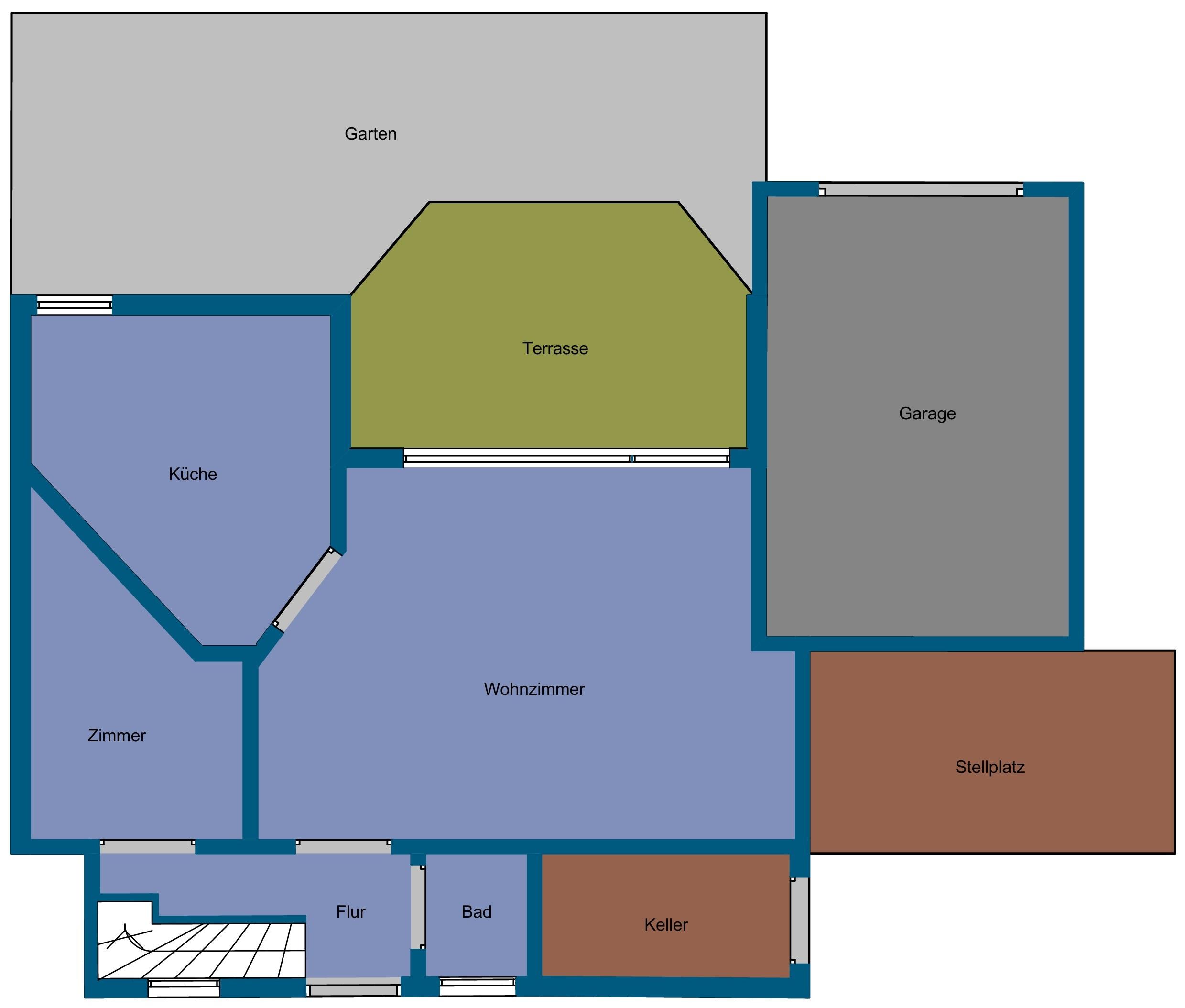 wohnfl che dachschr ge haus design und m bel ideen. Black Bedroom Furniture Sets. Home Design Ideas