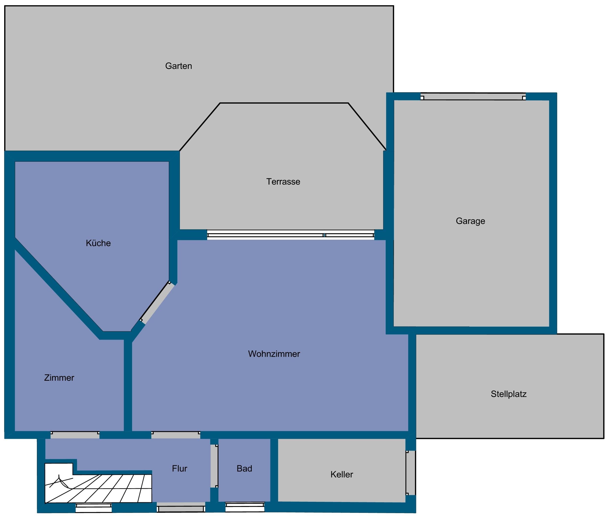 flächenberechnung - nettofläche, wohnfläche, bruttofläche