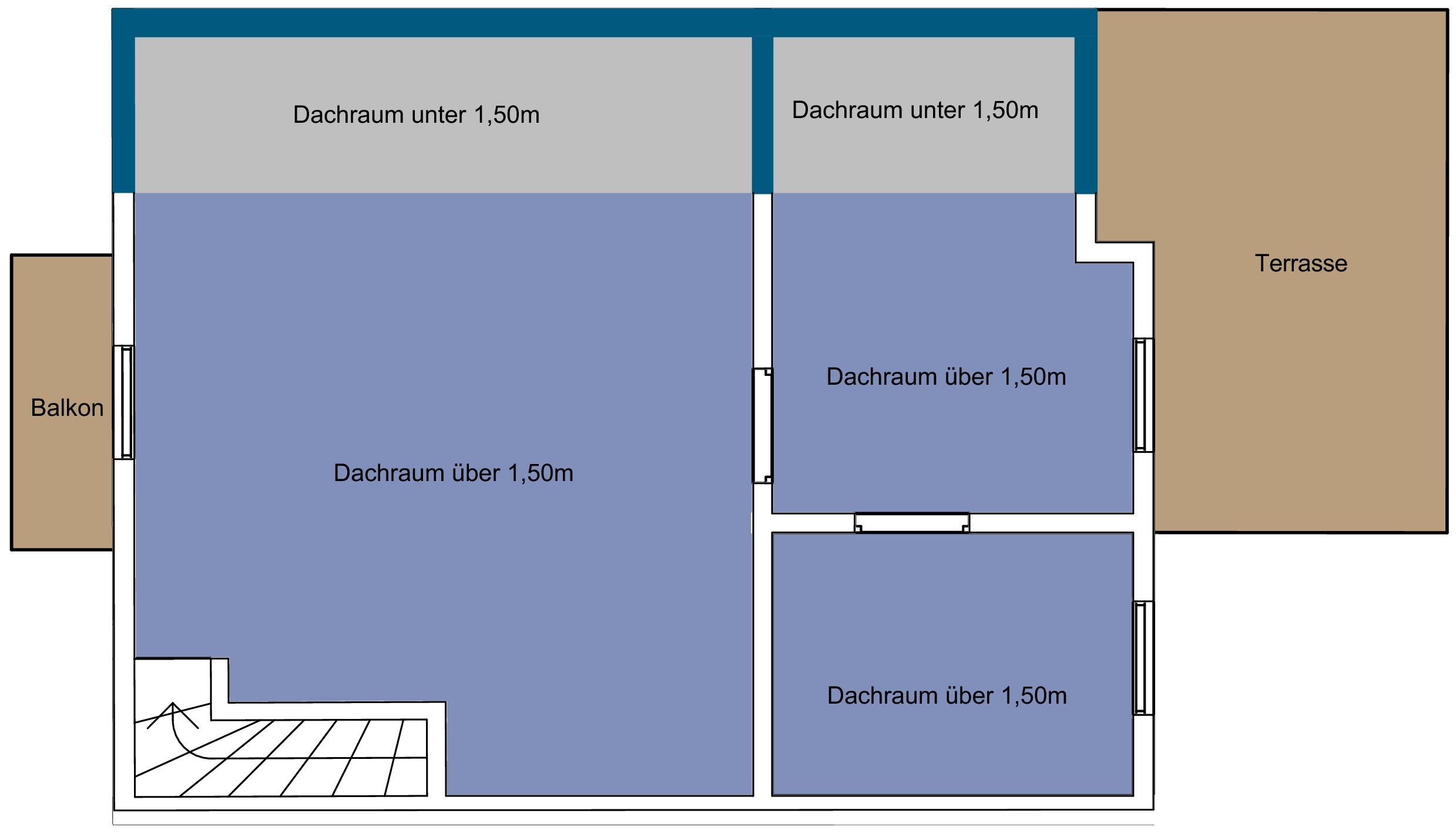 fl chenberechnung nettofl che wohnfl che bruttofl che. Black Bedroom Furniture Sets. Home Design Ideas